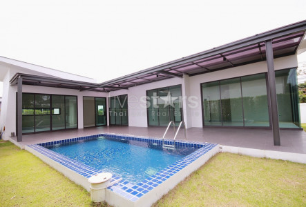 3 bedroom pool villa for sale in Pranburi, Hua Hin