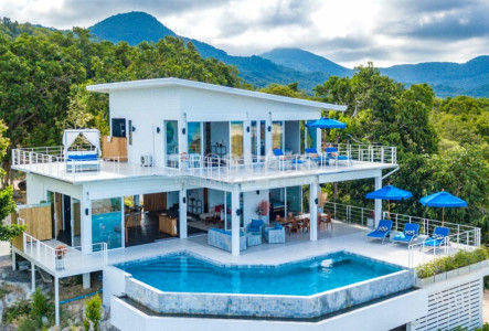 Seaview villa for sale in Koh Phangan