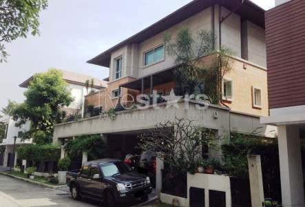 4 bedroom house in compound for sale on Rama 9 to Ramkhamheng 24