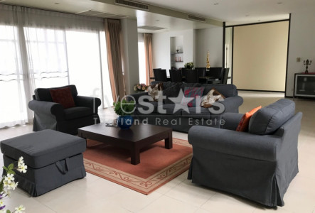 Duplex 4 bedrooms apartment for rent in Bangkok BTS Thonglor Phromphong
