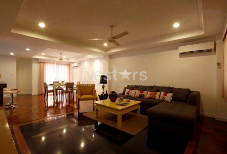 Townhouse in compound 5 bedrooms for rent in Bangkok Sathorn BTS Surask Chongnonsi