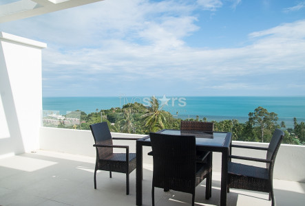 Apartment with amazing panoramic sea views for sale Koh Samui